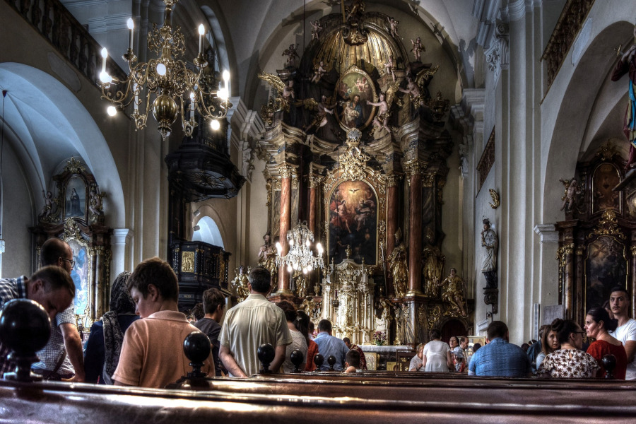 The Bishop is Coming! - Saint Philip and Saint James Church